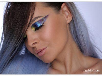 Вы не поверите: голографический макияж — это просто!