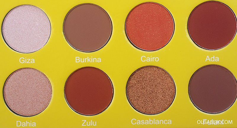Juvia's Place Mini Masquerade Palette, отзывы, фото, свотчи, makeup, photo