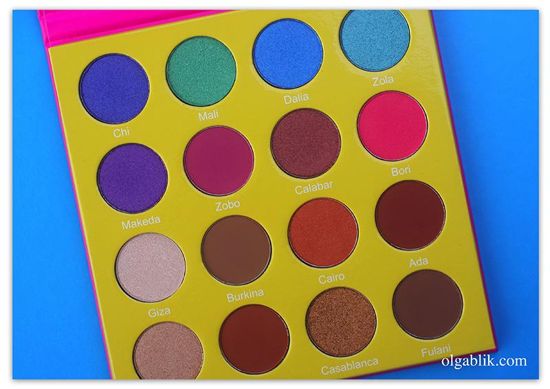 Juvia's PlaceMini Masquerade Palette, фото, тени, отзывы, где купить