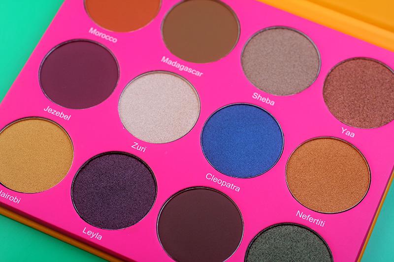Juvia's Place The Nubian II Eyeshadow Palette , отзывы, фото, где купить, макияж