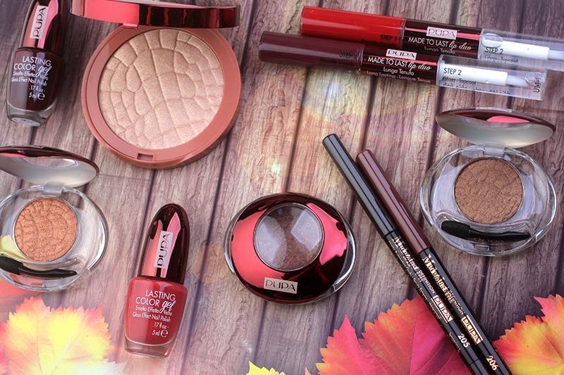 PUPA Privee Collection Fall 2017, макияж, отзывы, фото, осенняя коллекция