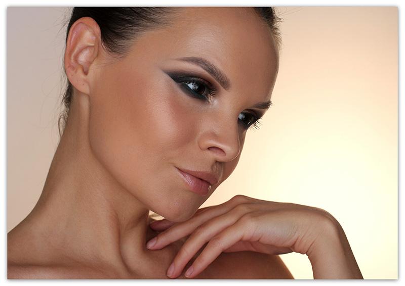 SleekI Divine 429 All Night Long, Makeup Tutorial, пошаговый вечерний макияж, фото