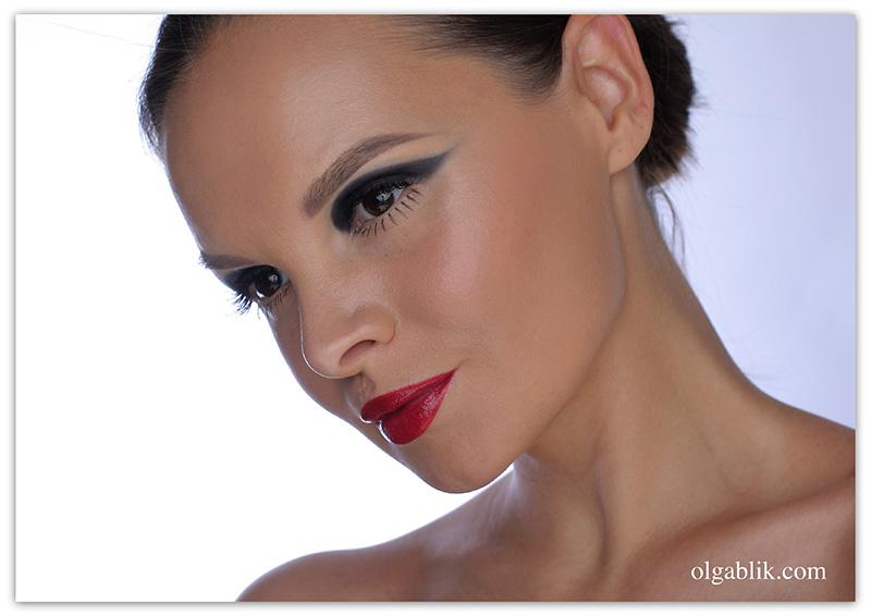 Twiggy Eye Makeup Tutorial, Макияж Твигги поэтапно, пошаговый фото урок
