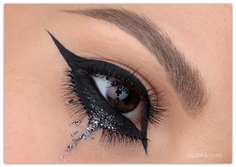 Easy Halloween Makeup, простоймакияж на Хэллоуин 2017, фото