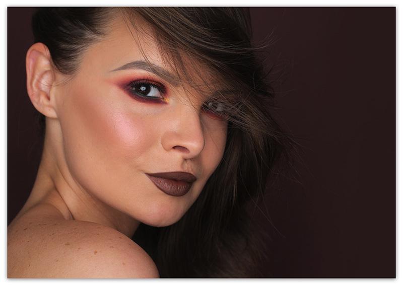 Осенние Smoky eyes: пошагово фото-урок, макияж смоки айс, осенний макияж