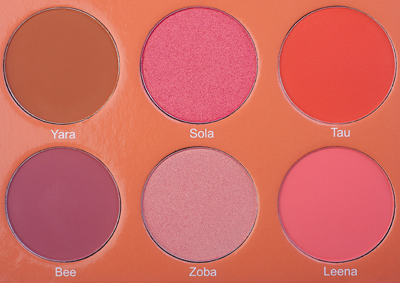 Juvia's Place The Saharan Blush Palette Volume II, Juvia's Place купить, Juvia's Place отзывы