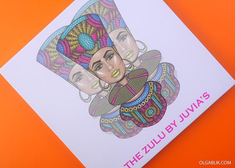 Juvia's Place The Zulu Palette, отзывы, палетка, тени для глаз