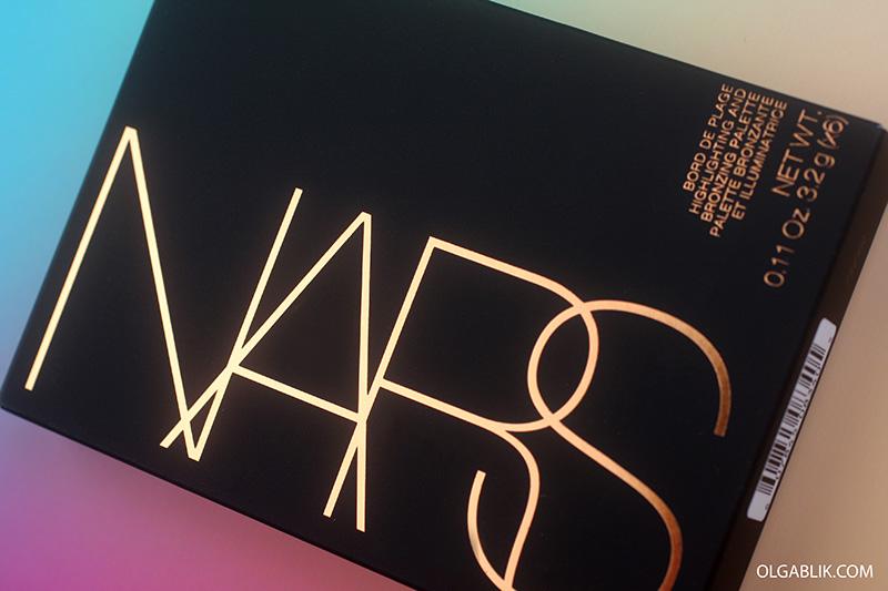 NARS Bord de Plage Highlighting & Bronzing Palette, отзывы, фото, review, photo