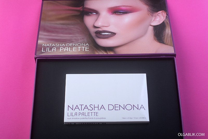 Natasha Denona Lila Palette, review, photo, 2017, Наташа Денона