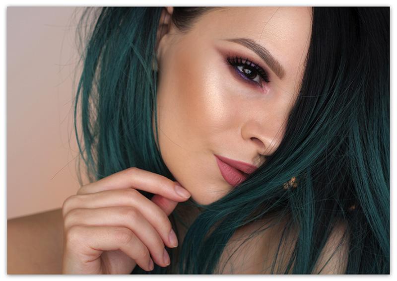 Natasha Denona Lila Palette Makeup Look