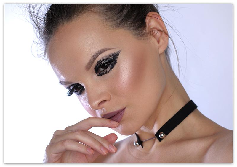 Smoky Look with Eyeliner, смоки айс, фото, пошагово