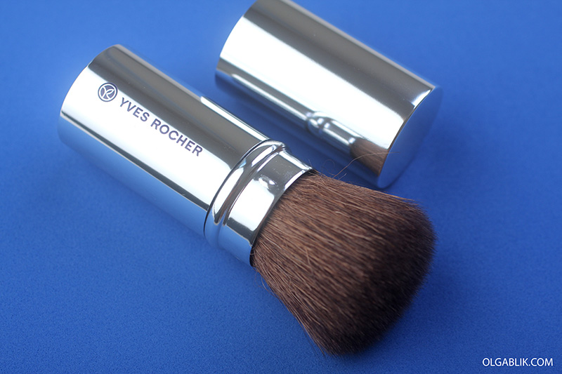 Кисть кабуки Yves Rocher Buffer Brush, отзывы, фото, кисти для макияжа