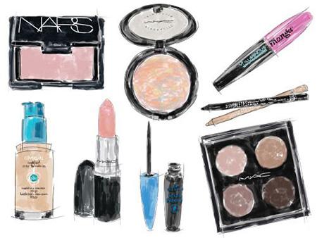 cosmetics, запасы косметики, косметика