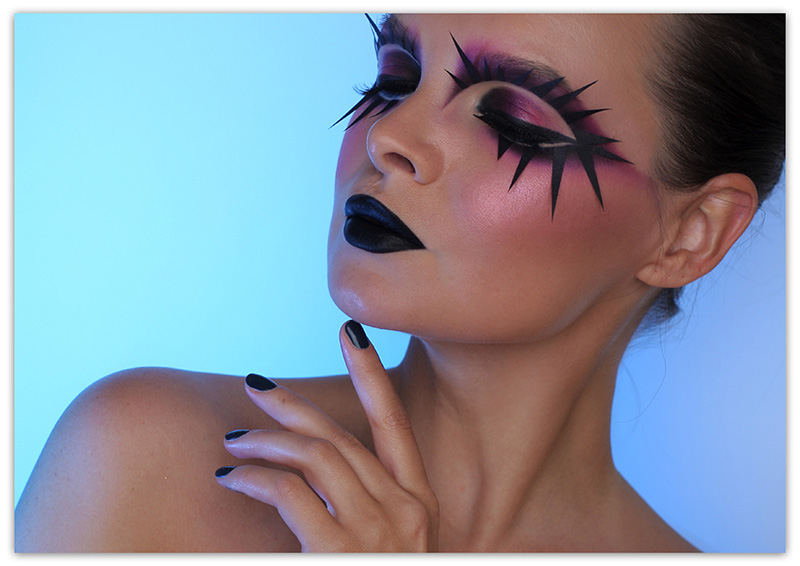 Halloween Makeup Tutorial 2017, Макияж на Хеллоуин пошаговый фото-урок