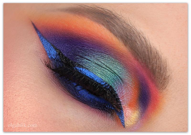 Glamour Make up Look, Гламурный макияж, Смоки айс с подводкой