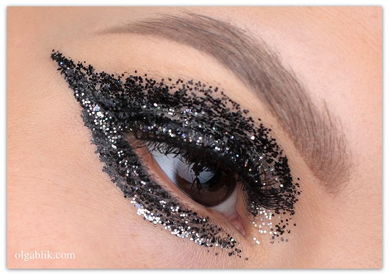 Glitter Smokey Eye Makeup 1 Olga Blik