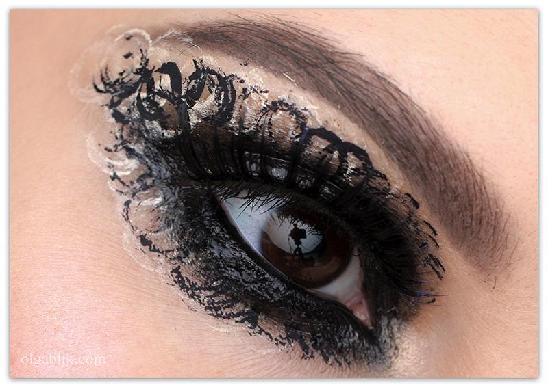 Glossy Black Smokey Eyes, влажные смоки айс, фото