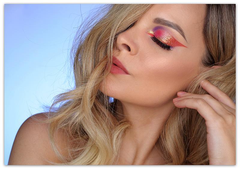 Golden Fall Makeup Look, Осенний макияж 2018, фото