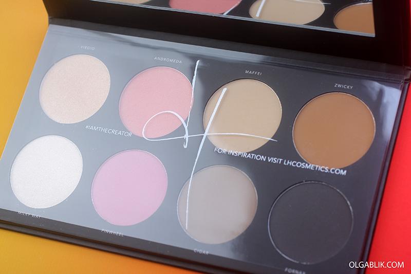 LH Cosmetics Infinity Palette, отзывы, интернет-магазины косметики