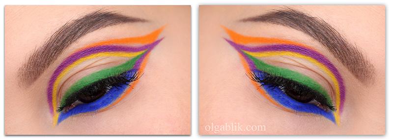 LH Cosmetics Mood Crayons Makeup Look, Linda Hallberg, cosmetics