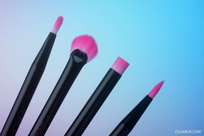 Real Techniques Prep + Color Lip Set, кисти для губ, фото, отзывы