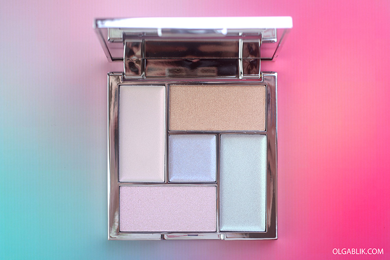 Sleek MakeUP Distorted Dreams Highlighter Palette, хайлайтер Слик, отзывы, фото