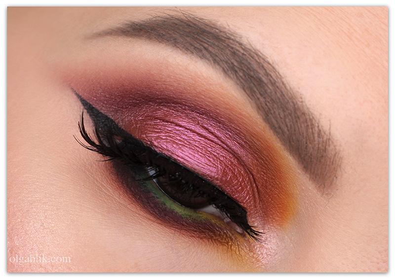 smoky eyes, осенний смоки айс, фото, макияж для карих глаз