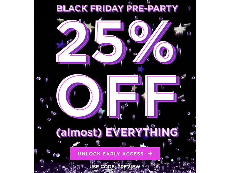 Black Friday Beauty Deals, Черная пятница 2018, скидки, косметика