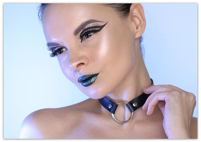 Black Raven Makeup, макияж на хэллоуин 2018 своими руками, фото