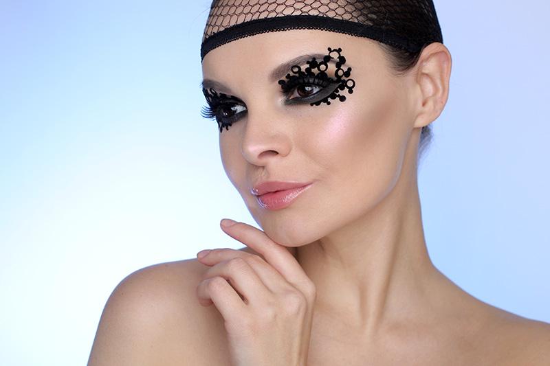 Creative Eye Makeup, креативный макияж, фото