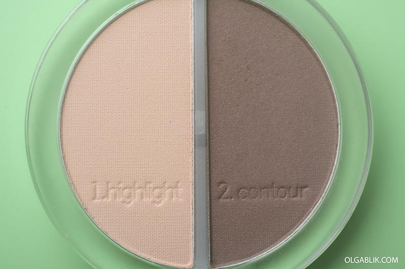 Тени Essence Contouring Eyeshadow Set 2в1, тени эссенс для контурирования, Бюджетный скульптор для лица