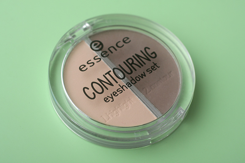 тени для век Essence Contouring Eyeshadow Set 2в1