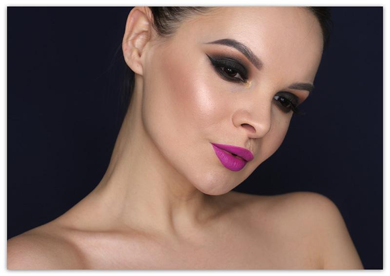 Make Up Factory United in Beauty Collection Makeup Tutorial, Смоки айс, Коричневые smoky eyes, пошагово