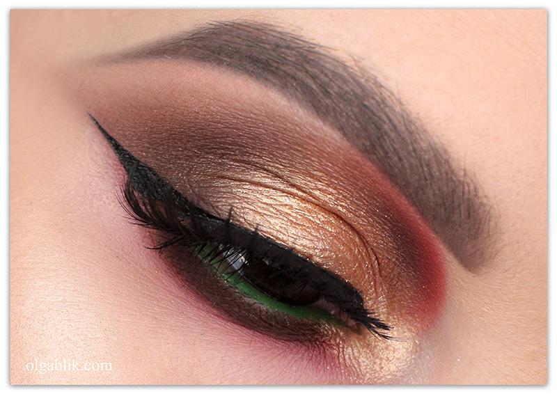 Осенний макияж глаз 2019