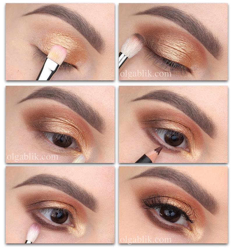 Макияж для начинающих пошагово, уроки макияжадля начинающихв картинках, уроки макияжа глаз пошагово, уроки профессионального макияжадля начинающих