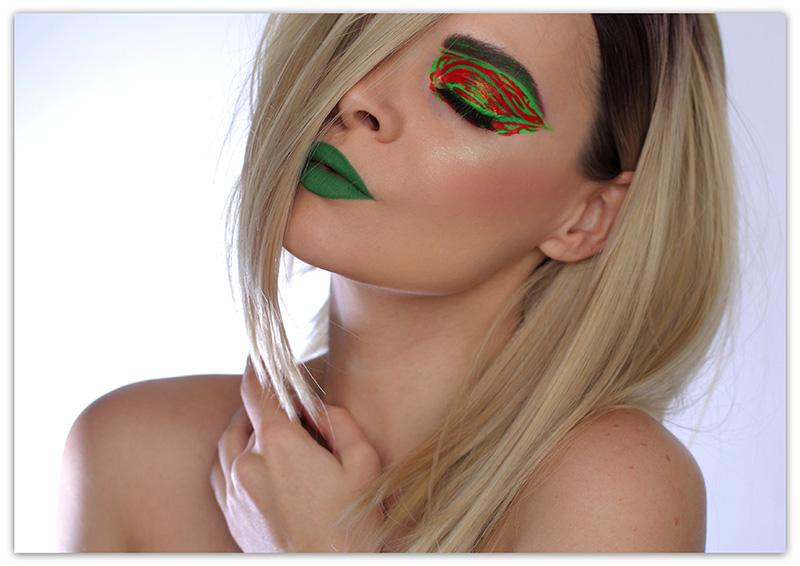 Suva Beauty Hydra Liner Makeup Look, подводки Сува Бьюти