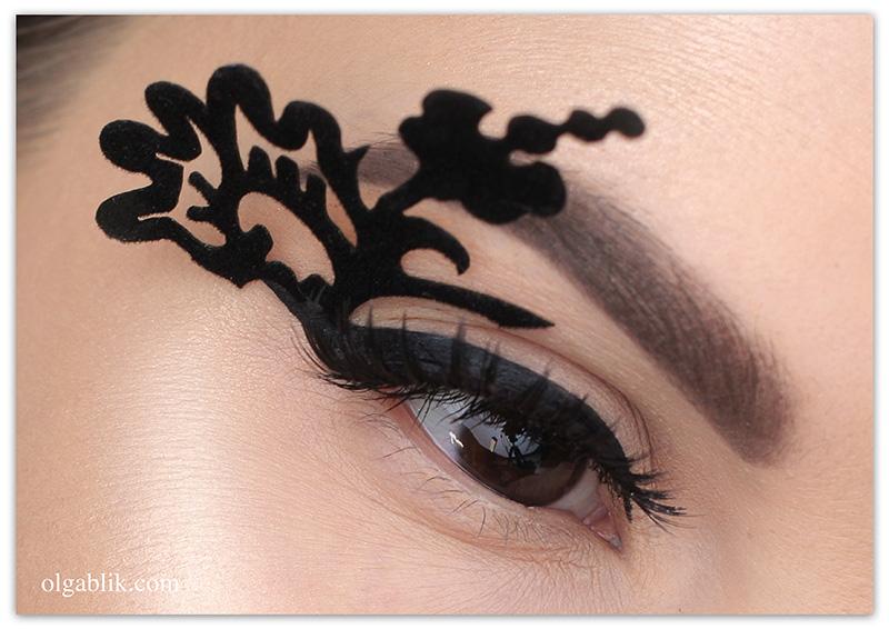 Фантазийный макияж глаз
