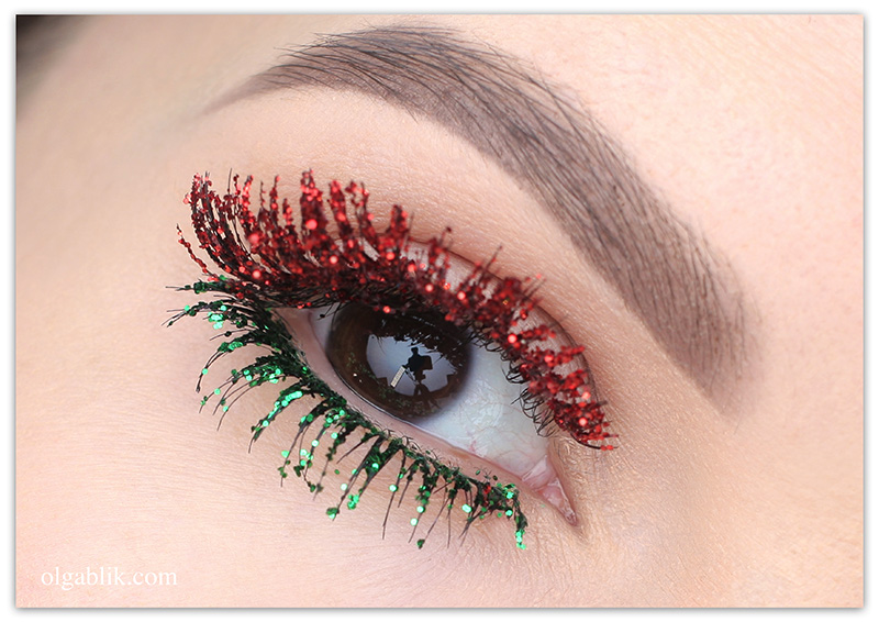 Christmas Inspired Makeup Look 2018, Новогодний макияж 2018, Макияж на Новый год 2018
