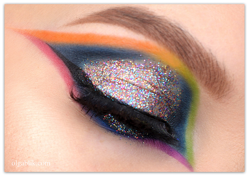 Christmas new years eve makeup look, Новогодний макияж 2019, Макияж на Новый год с блестками