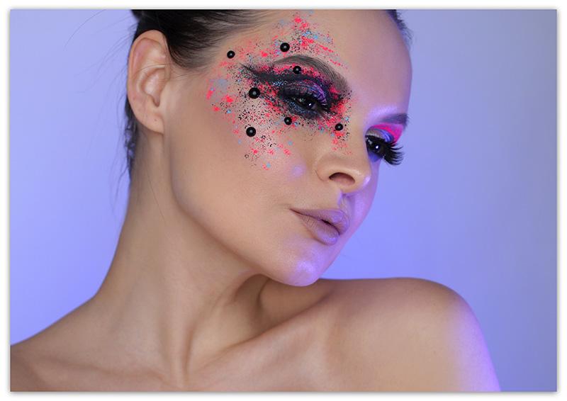 Как сделать необычный макияж, необычный макияж фото