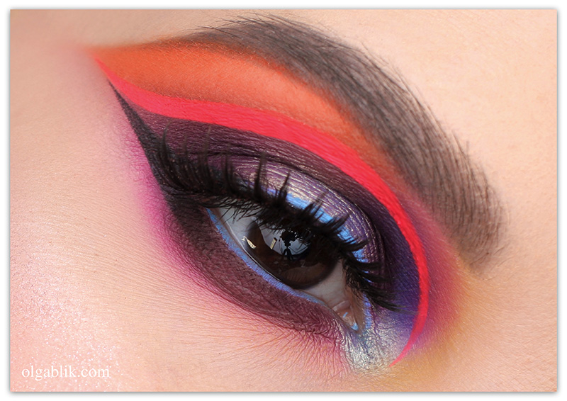 Dramatic Colorful Makeup Look, Правила макияжа, правила макияжа глаз, правила макияжа 2018
