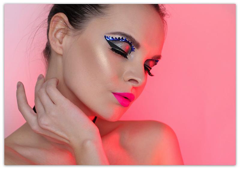Glam Party Makeup New Year's Eve Look, Новогодний макияж 2019, Макияж на Новый год 2019