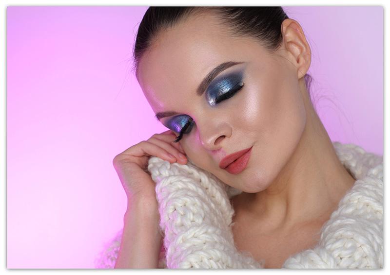 How to Do Makeup for Winter, зимний макияж 2017 - 2018, фото, пошагово
