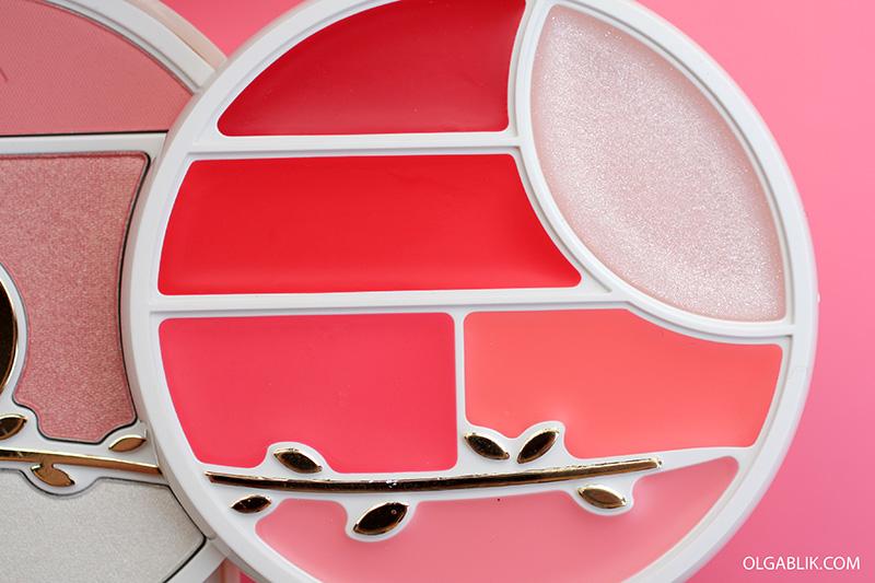 Pupa Kit - Owl 3 - 001 Rosa, Набор для макияжа лица глаз и губ Пупа, Косметика Pupa отзывы