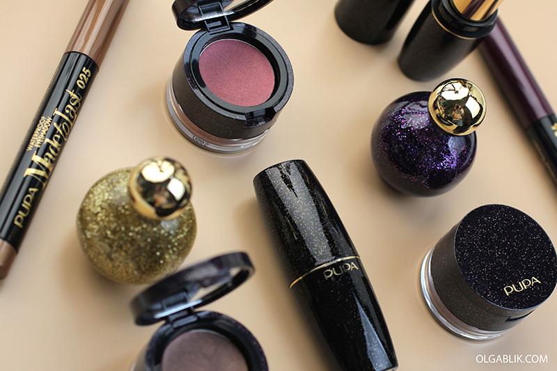 Pupa Light Up The Night Makeup Collection Holiday 2017, Рождественскиеколлекции макияжа2018, отзывы