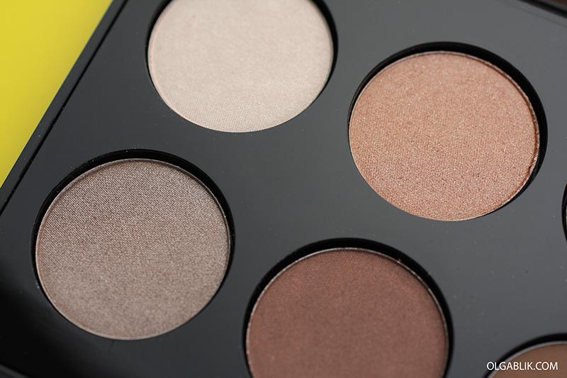Тени для век Make Up Factory International Eyes Palette