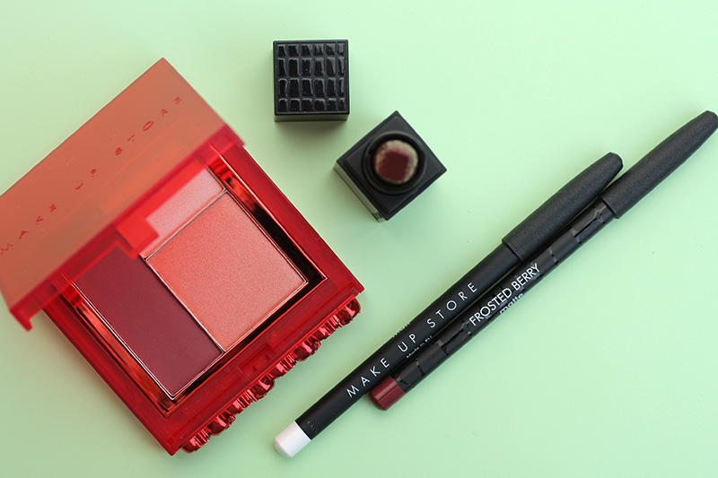 Make Up Store Velvet Trio - Shade Red, Make Up Store отзывы, makeupstore отзывы