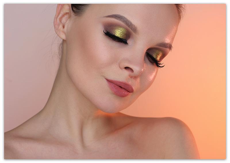 дневной макияж для карих глаз, дневной макияж как сделать, дневной макияж фото уроки