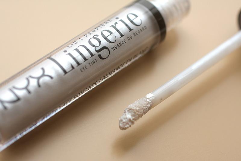 Жидкие тени для век NYX Lid Lingerie, Отзывы на NYX Lid Lingerie, фото NYX Lid Lingerie
