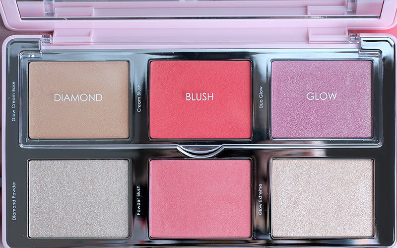 Natasha Denona Diamond & Blush Palette 01 Darya, review, photo, swatches, Наташа Денона отзывы